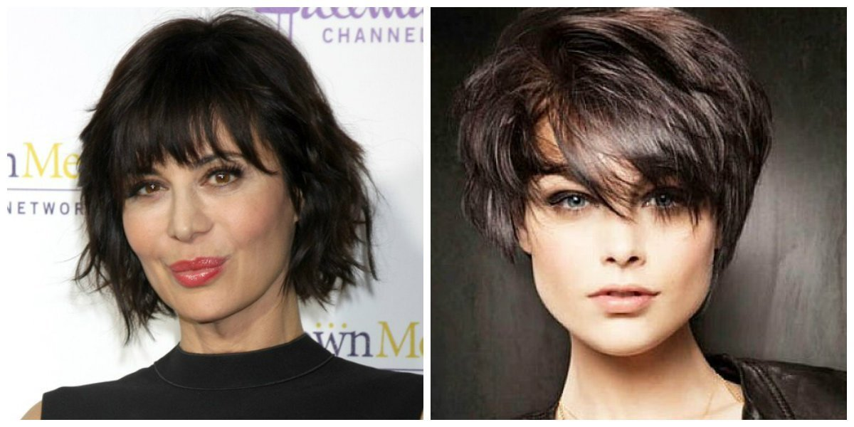 The Best Short Haircuts For Oval Faces 2019 Trendy Short Updos For Pictures