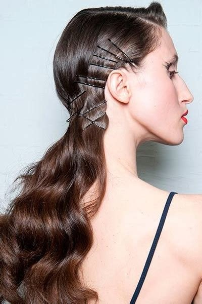 The Best 10 Simple Hairstyles You Can Do With Bobby Pins Daily Pictures