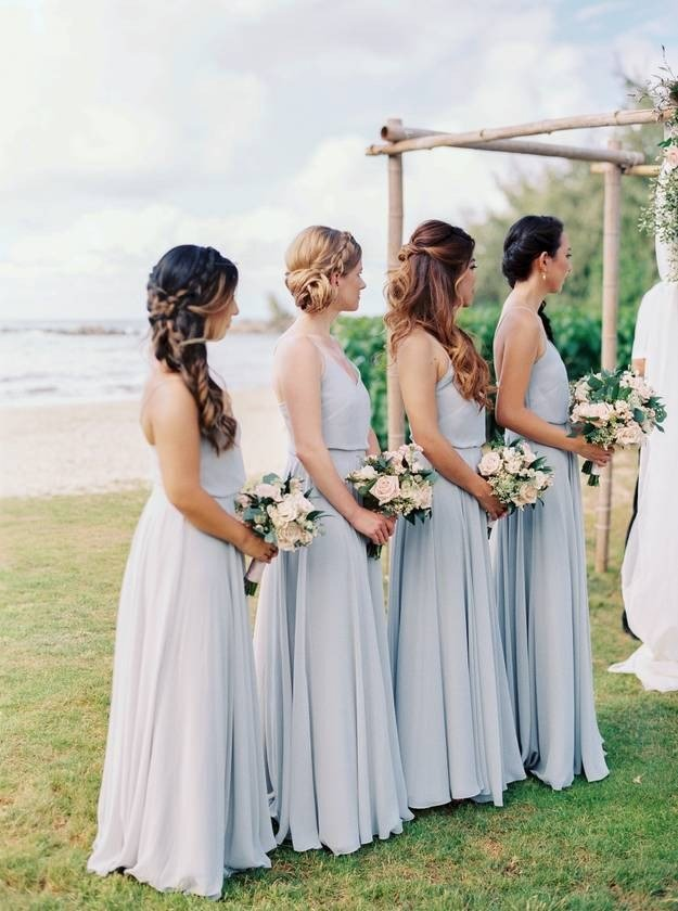 The Best 30 Bridesmaid Hairstyles For All Hair Types Weddingwire Pictures