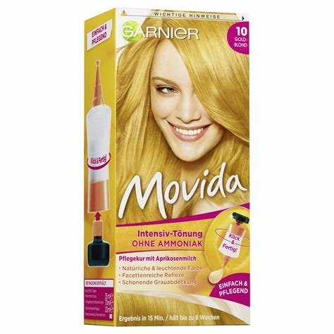 The Best Garnier Movida 10 Gold Blond Semi Permanent Hair Color Pictures