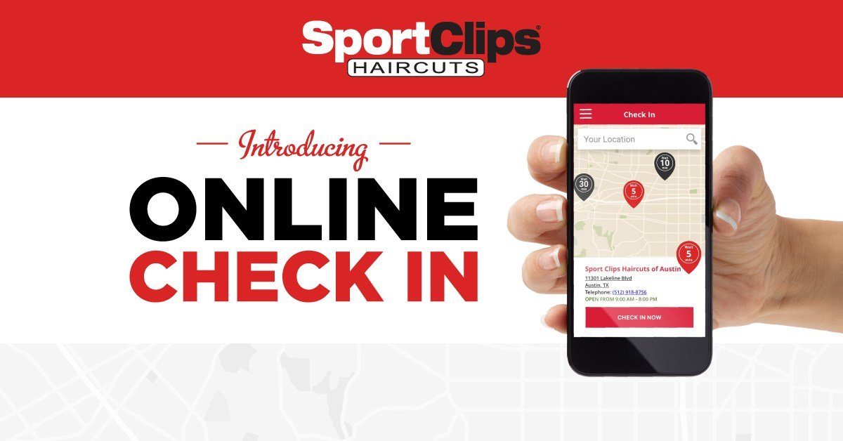 The Best Get In Line Online Now At Sport Clips Haircuts Pictures
