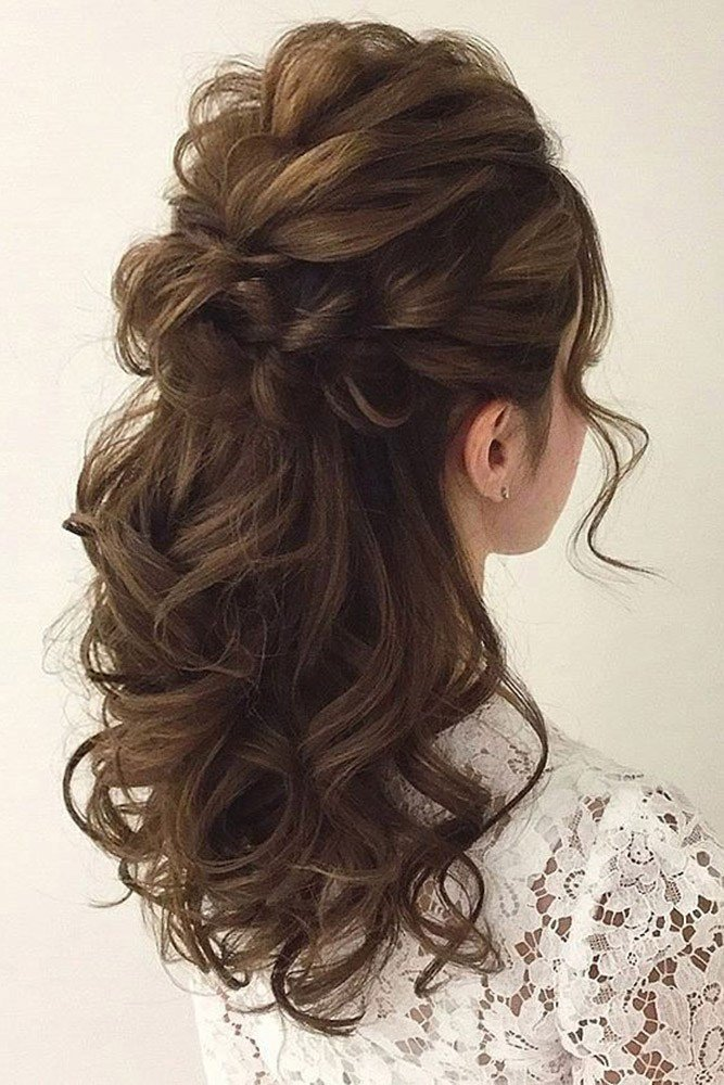 The Best 25 Awesome Wedding Hair Half Up Ideas – My Stylish Zoo Pictures