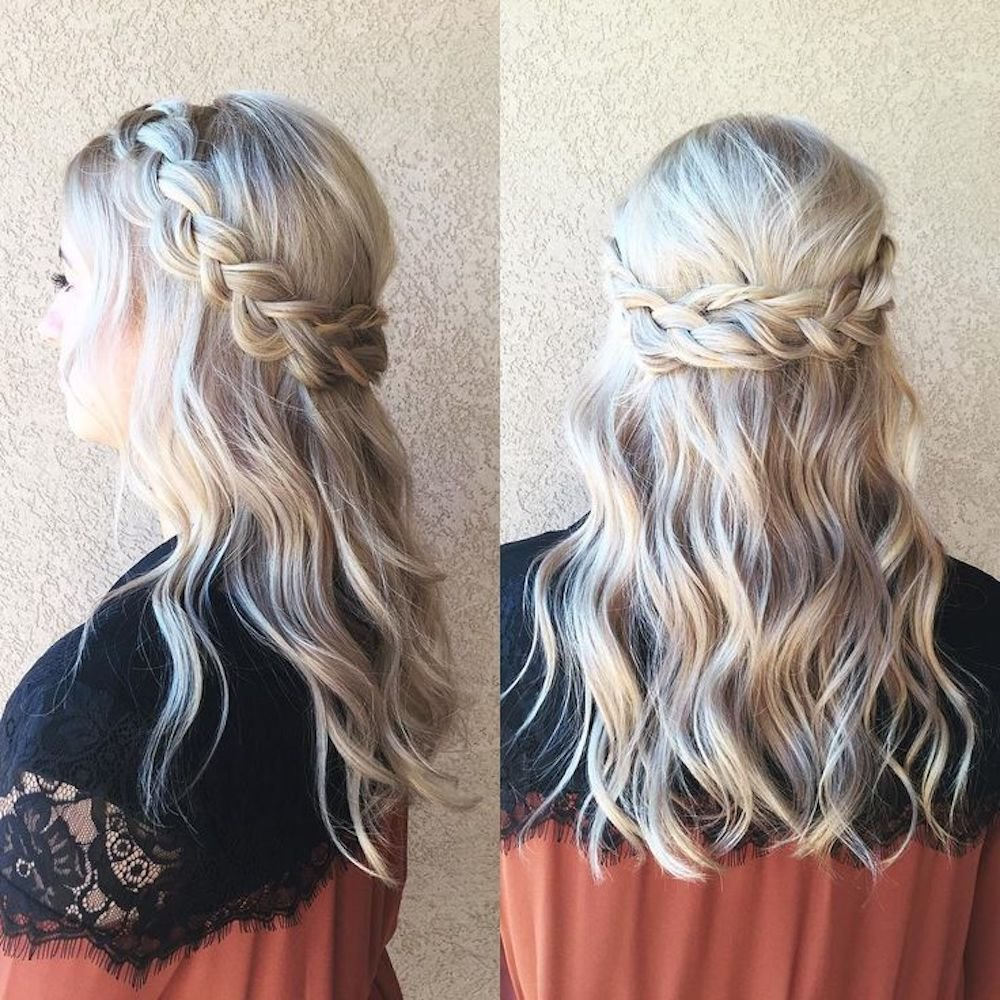 The Best Easy Prom Hairstyles That Anyone And Everyone Can Rock To Prom Pictures