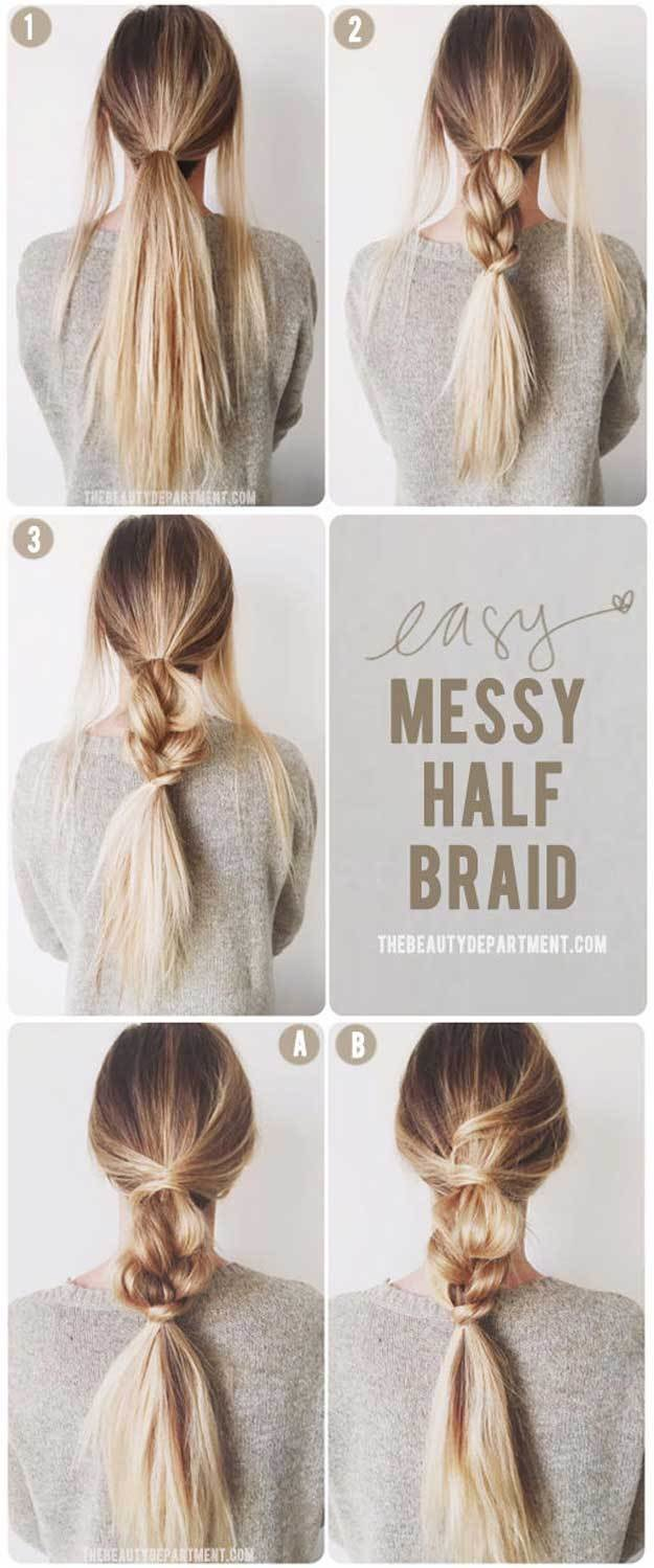 The Best 35 Best 5 Minute Hairstyles The Goddess Pictures