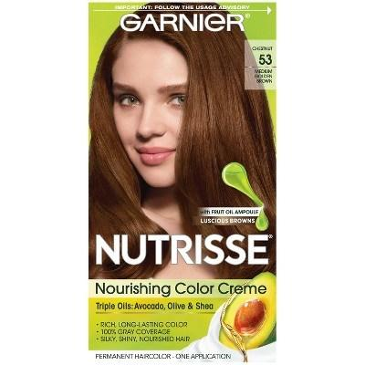 The Best Garnier® Nutrisse® Nourishing Color Creme 53 Medium Golden Pictures
