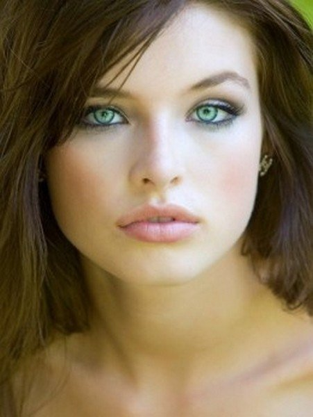 The Best Makeup For Fair Skin Brown Hair And Green Eyes Bellatory Pictures