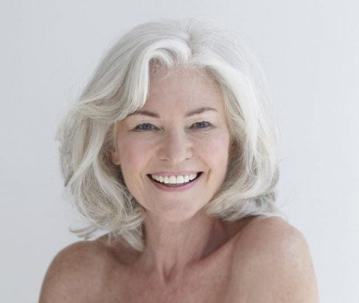 The Best Silver Fox Hair Styles For Medium Texture Wavy Hair Pictures