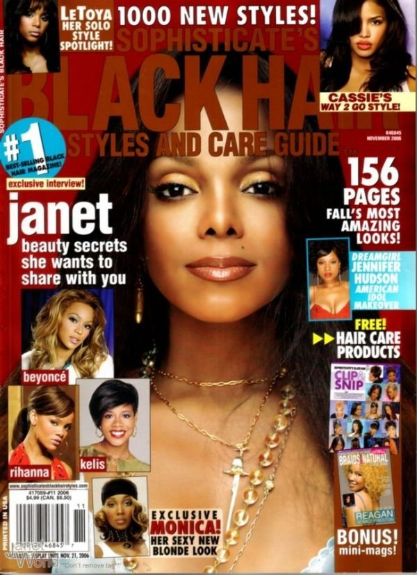 The Best Black Hairstyles Magazines Online Hairstyle For Women Man Pictures