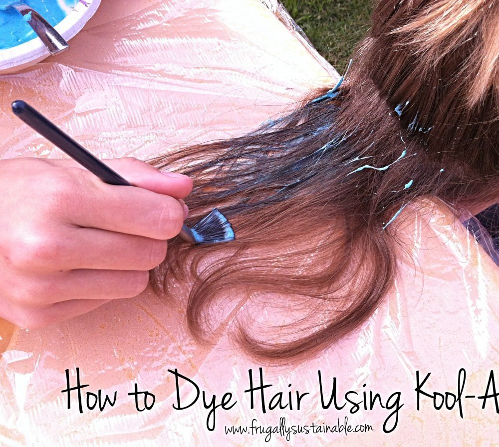 The Best How To Dye Hair Using Kool Aid A Picture Tutorial Pictures
