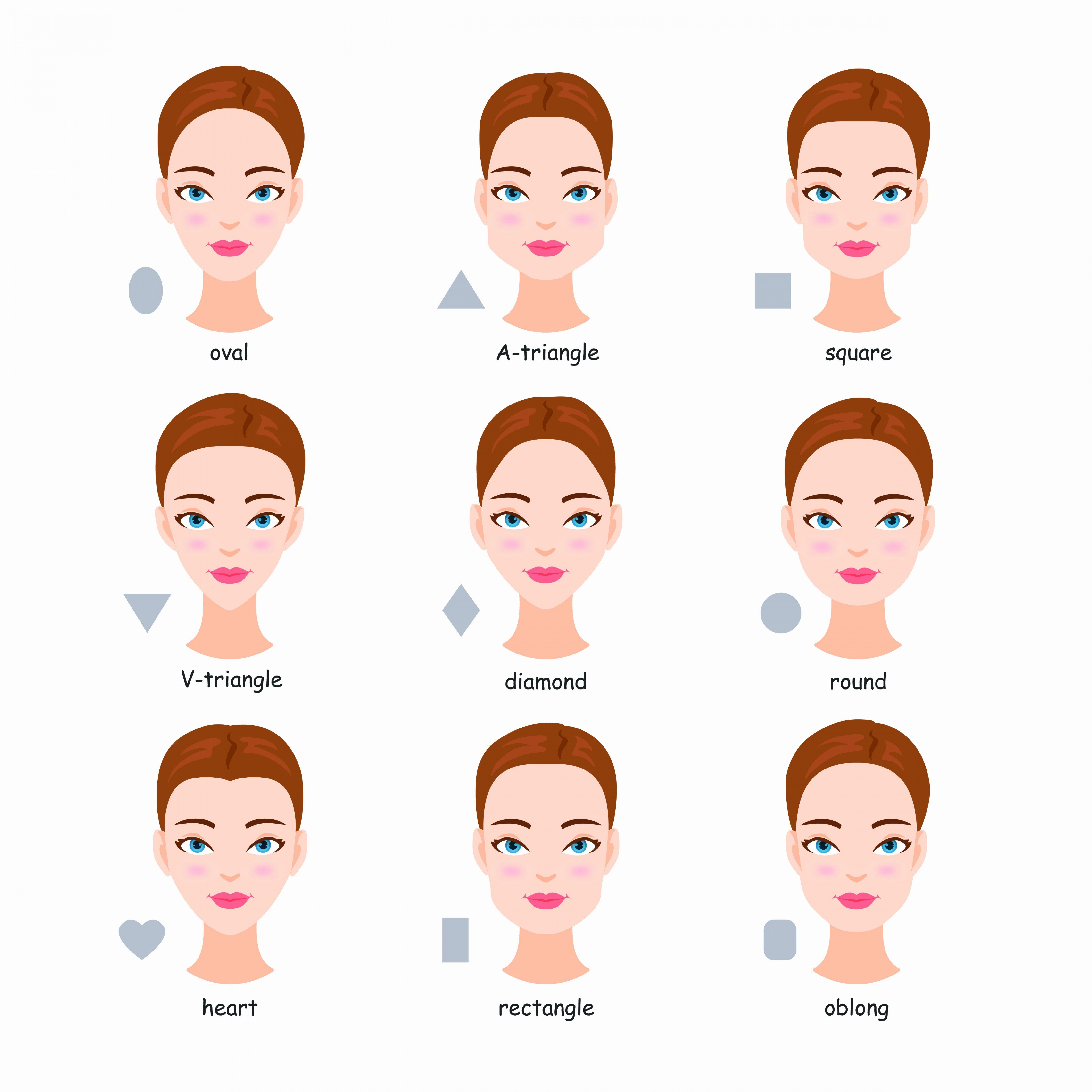 The Best Hairstyle For Oval Face Shape – Fresh Hair Cut Pictures