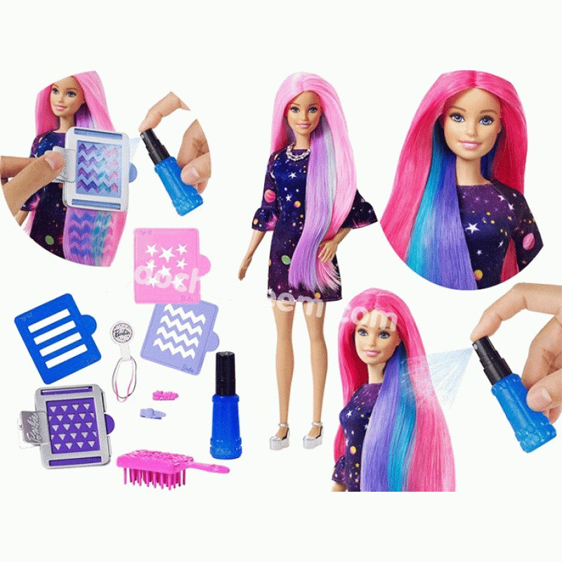 The Best Barbie Doll Changes Hair Color Barbie Toys Figures Pictures