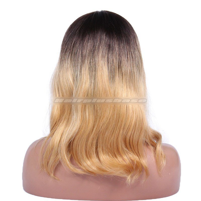 The Best Ciara Ombre Honey Blonde Color Medium Bob V*Rg*N Hair Lace Pictures