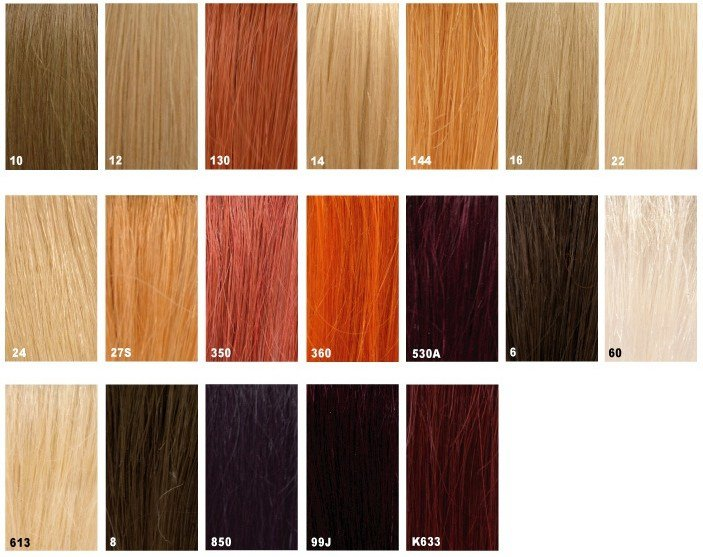 The Best Hair Color Chart Hair Stop And Shop Pictures