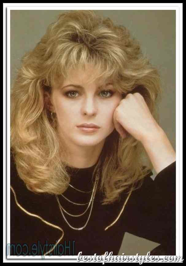 The Best 80S Hairstyles For Women Hairstylo Pictures