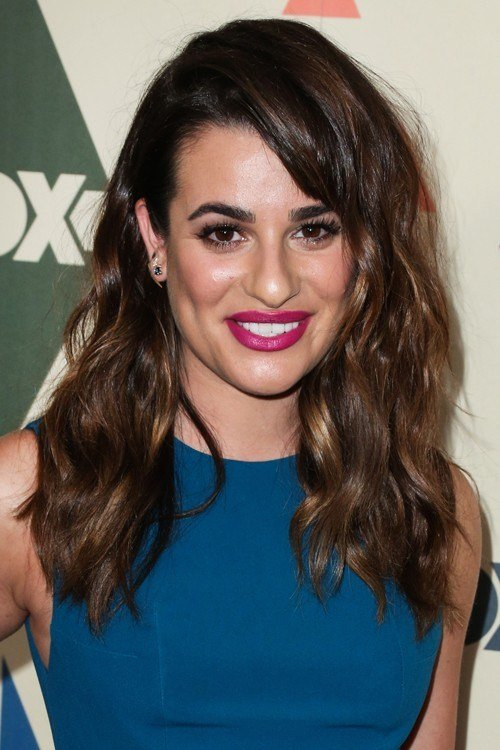 The Best Lea Michele Hairstyles Hairstylo Pictures