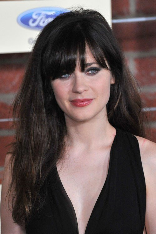 The Best Zooey Deschanel Hairstyles Hairstylo Pictures