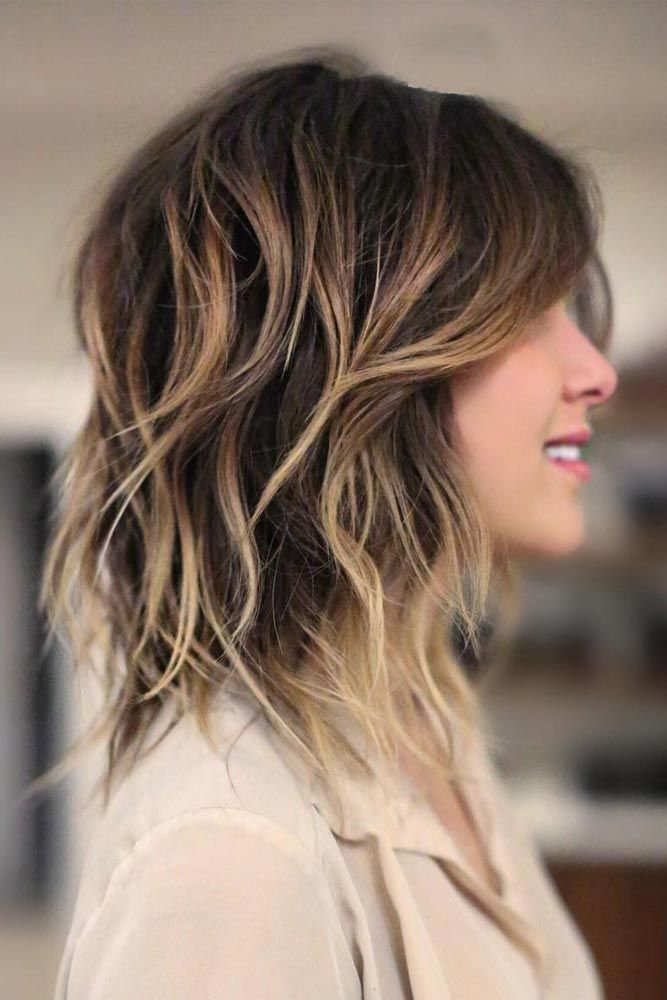The Best Shoulder Length Hairstyles For Thick Hair Women Hairstylo Pictures