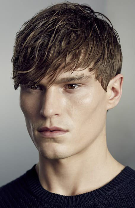 The Best 25 Stylish Fringe Haircuts For Men The Trend Spotter Pictures