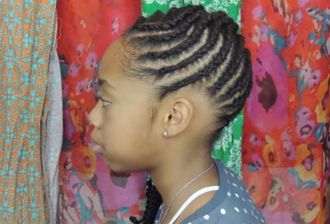 The Best Easy And Creative Cornrows For Little Girl S Natural Hairstyle Pictures