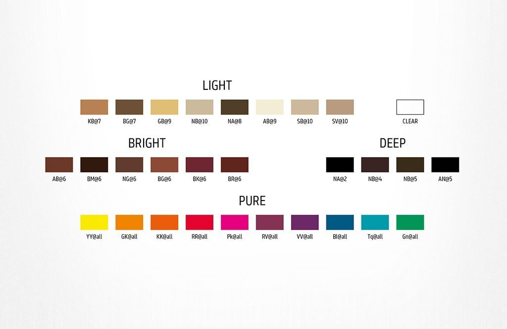 The Best Elumen Colour Chart Helps To Choose The Hair Colour You Love Pictures