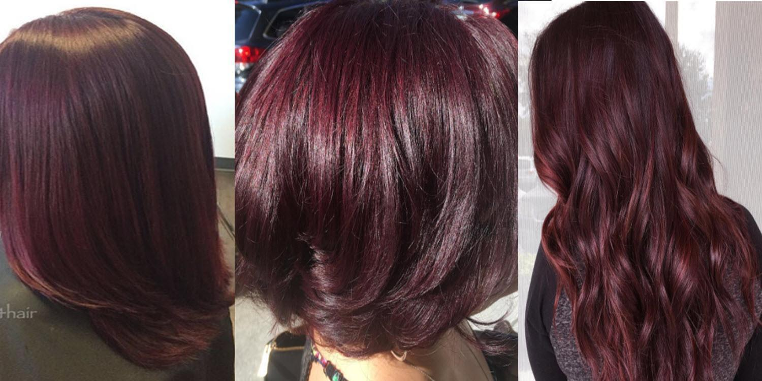The Best Is Burgundy Hair Color Right For You Matrix Pictures