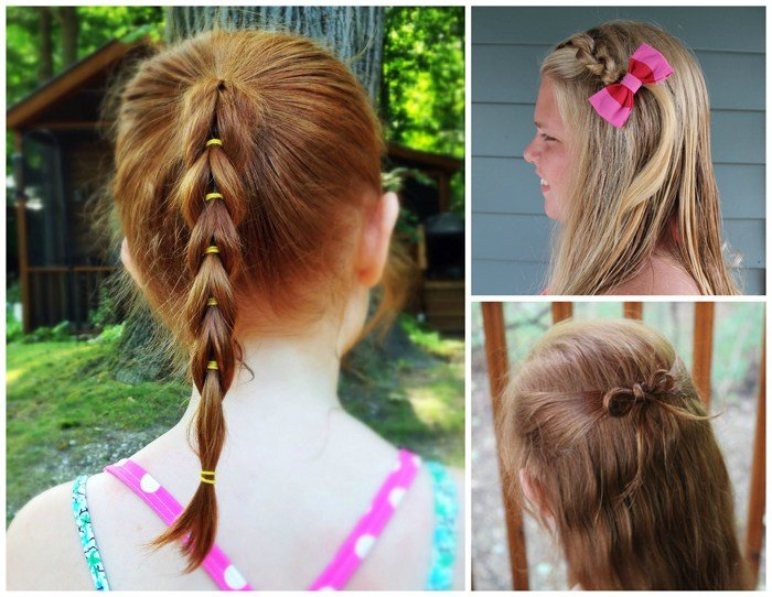 The Best 3 Easy Hairstyles For Girls That Are Perfect For Back To Pictures