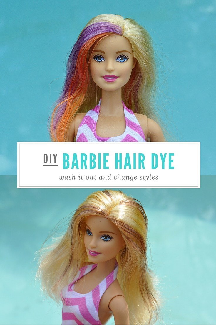 The Best Diy Wash Out Barbie Hair Dye – Be A Fun Mum Pictures