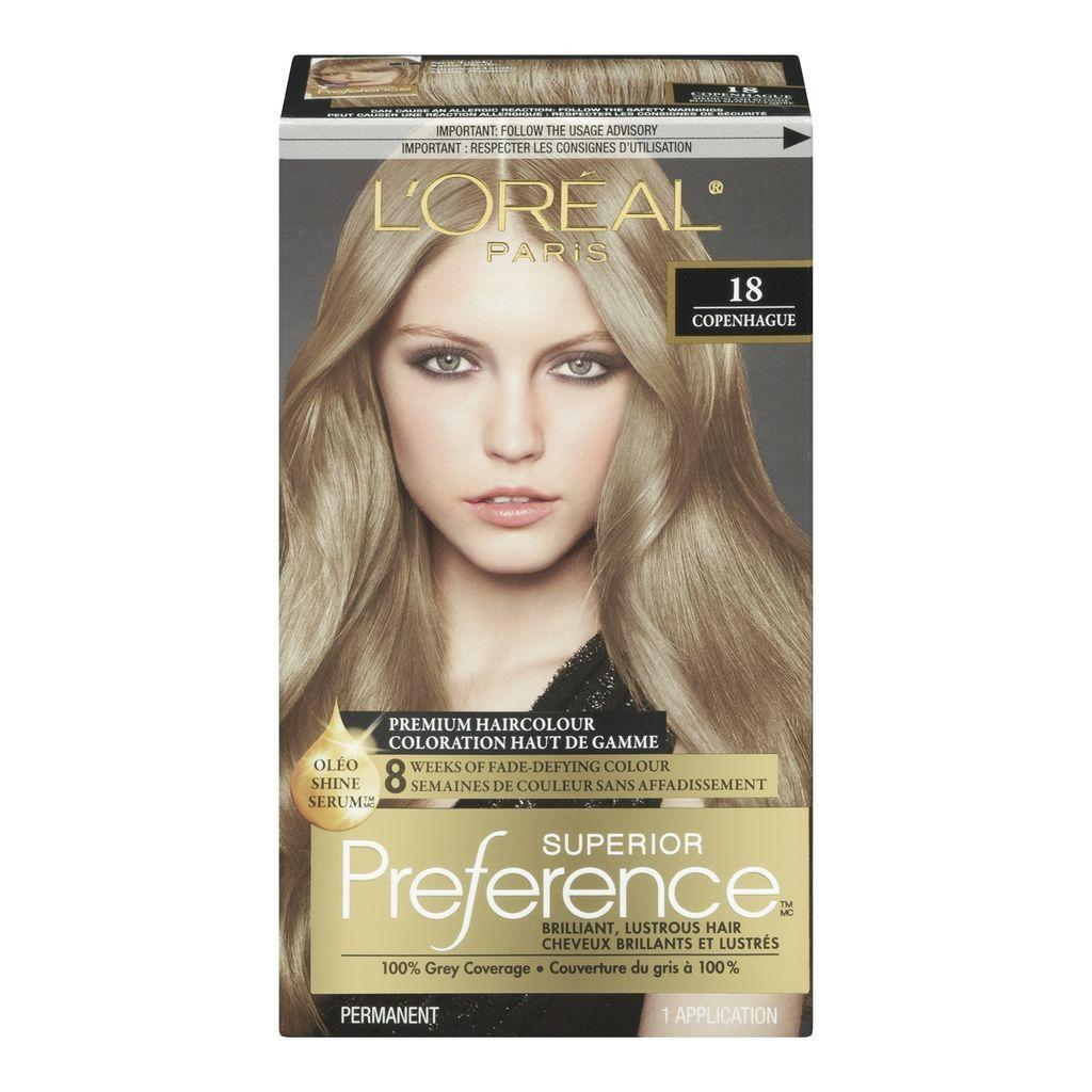The Best Buy Preference Medium Ash Blonde 18 Hair Colour From Value Pictures