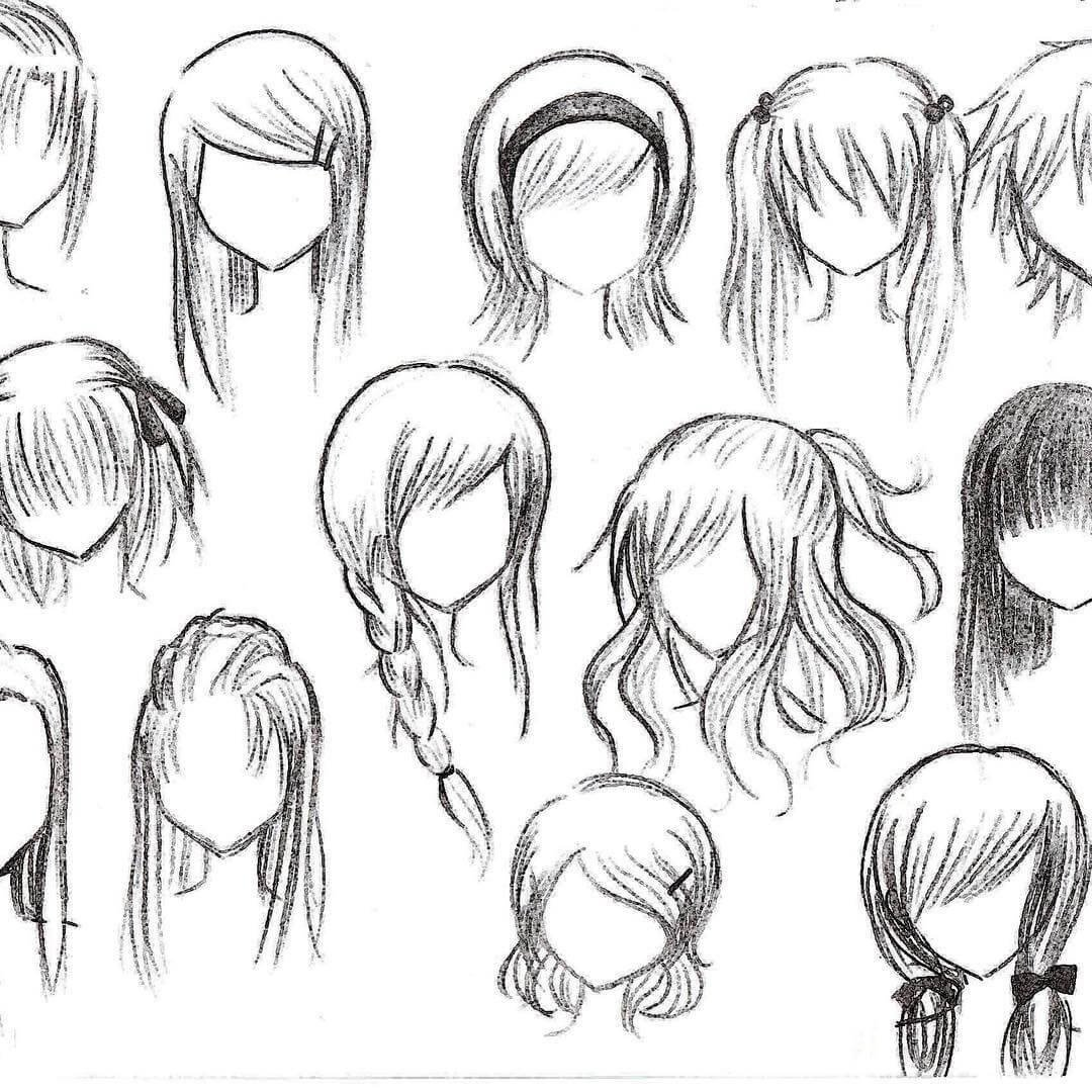 The Best Top 25 Anime Girl Hairstyles Collection Sensod Pictures
