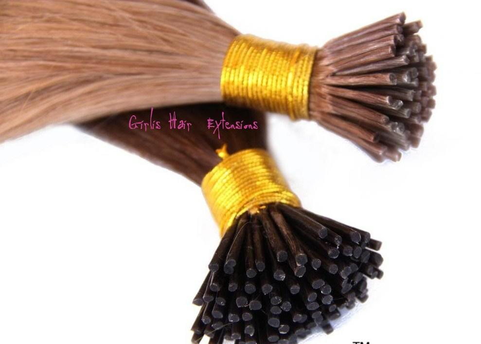 The Best 1G Stick Tip I Tip Remy Hair Extensions Straight 5A Pictures