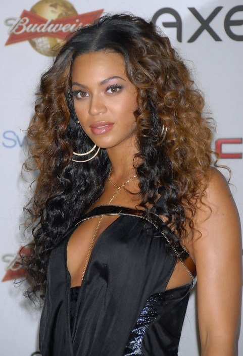 The Best Layered Ombre Curly Hairstyle For Long Hair Hairstyles Pictures