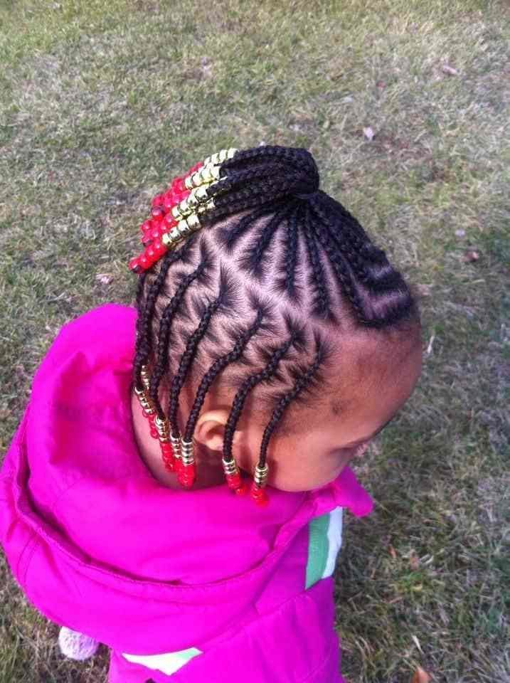 The Best 21 Attractive Little Girl Hairstyles With Beads Pictures