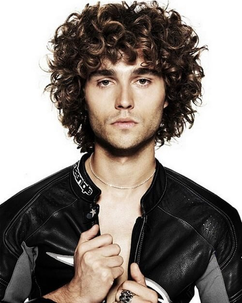 The Best 45 Amazing Curly Hairstyles For Men Inspiration And Ideas Hair Motive Pictures