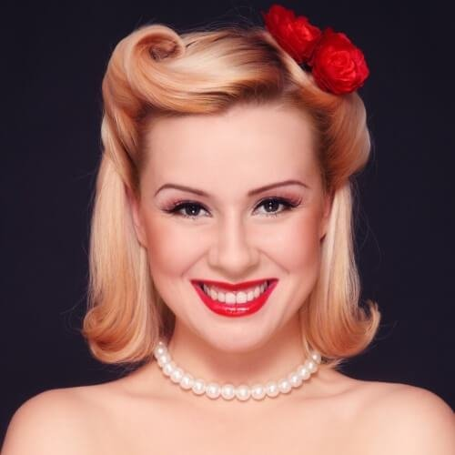 The Best 50 Pin Up Hairstyles For Retro Glam Hair Motive Hair Motive Pictures