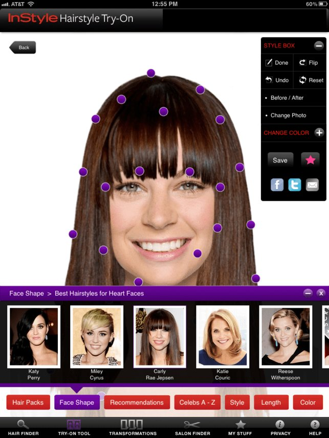 The Best ‎Instyle Hairstyle Try On On The App Store Pictures
