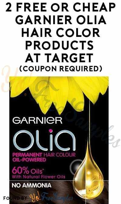 The Best 2 Free Or Cheap Garnier Olia Hair Color Products At Target Pictures