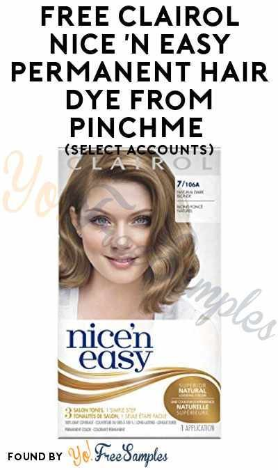 The Best Free Clairol Nice N Easy Permanent Hair Dye From Pinchme Pictures