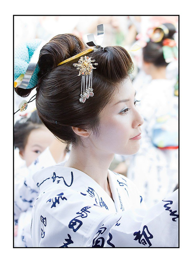 The Best Traditional Japanese Hairstyle By Adygarden Redbubble Pictures