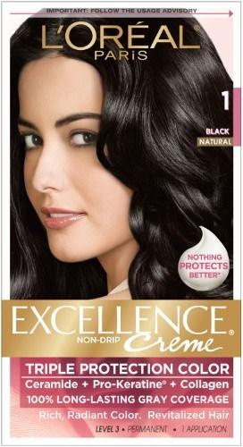 The Best L Oreal Excellence Creme Pro Keratine Black Natural 1 Pictures