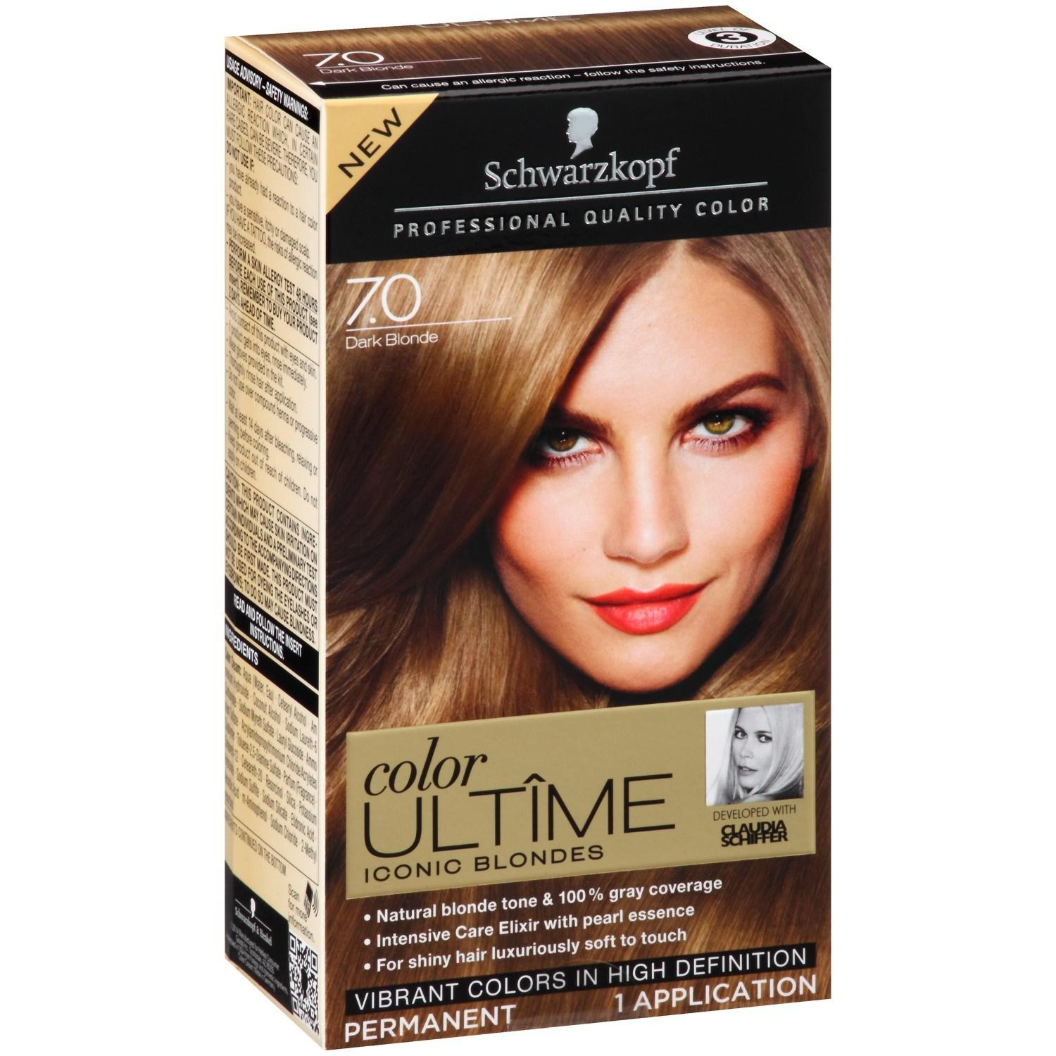The Best Schwarzkopf Color Ultime Hair Color Cream 7 Dark Blonde Tube 2 03 Oz Jet Com Pictures