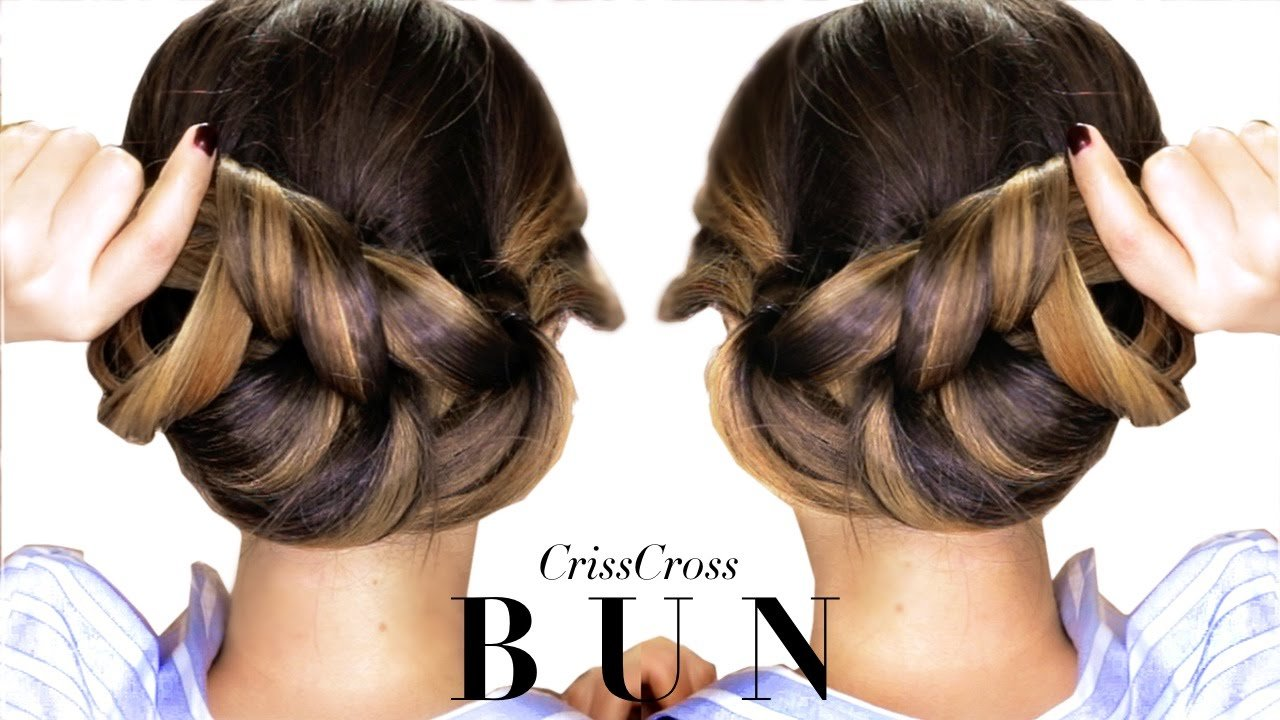 The Best 3 Minute Elegant Bun Hairstyle Every Girl Doesn T Already Pictures