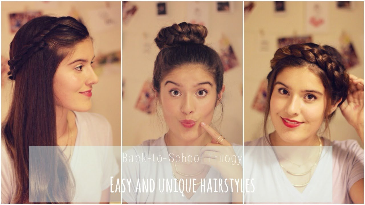 The Best Back To School 2014 Easy And Unique Hairstyles Xoxo Zo Pictures