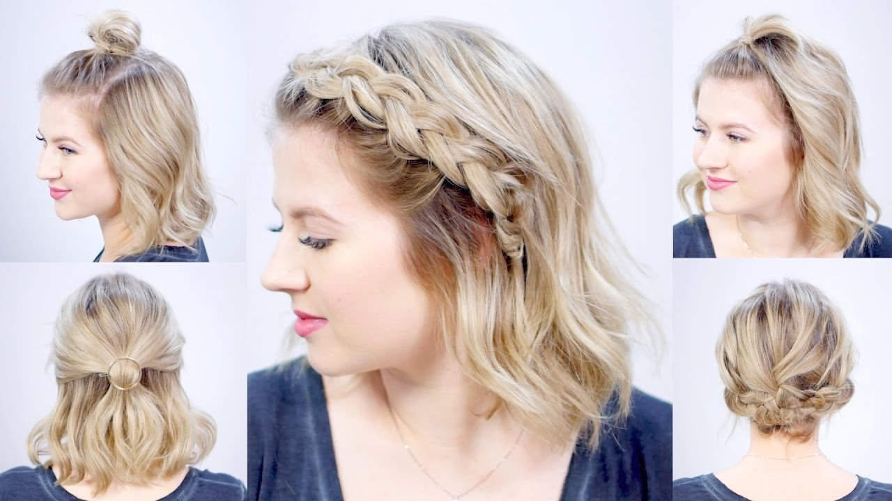 The Best Five 1 Minute Super Easy Hairstyles Milabu Youtube Pictures