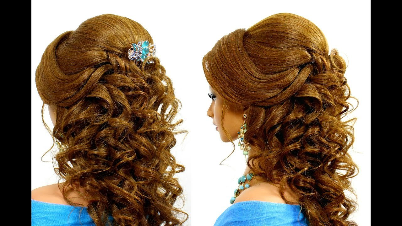 The Best Romantic Wedding Hairstyle For Long Hair Tutorial Youtube Pictures