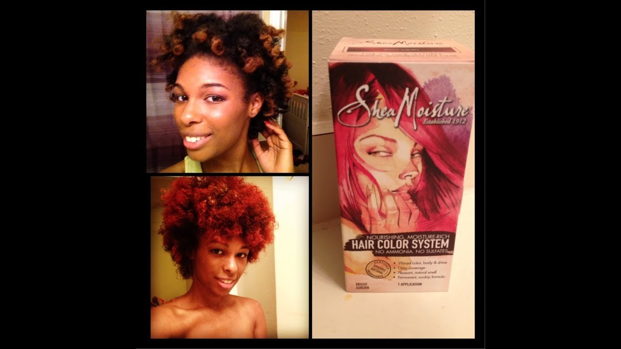 The Best Shea Moisture Hair Color Quick Review Auburn Youtube Pictures