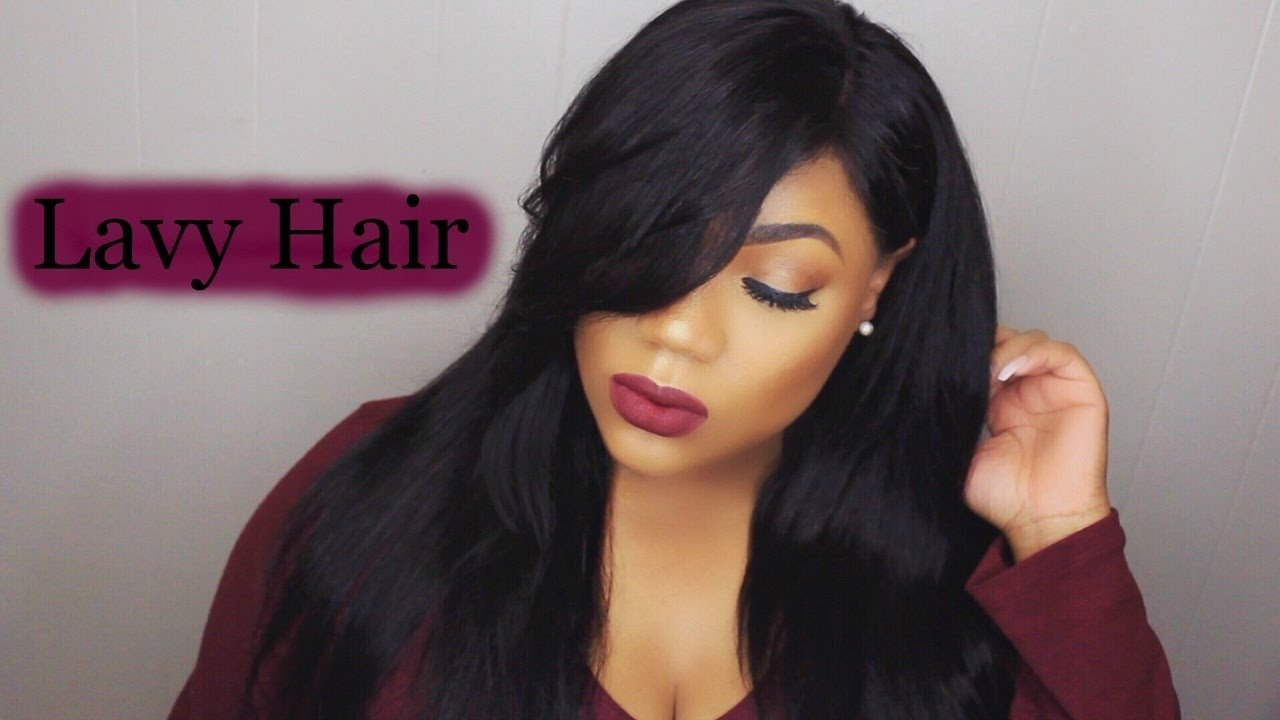 The Best How To Cut Style Side Swept Bangs Ft Lavy Hair Lace Pictures