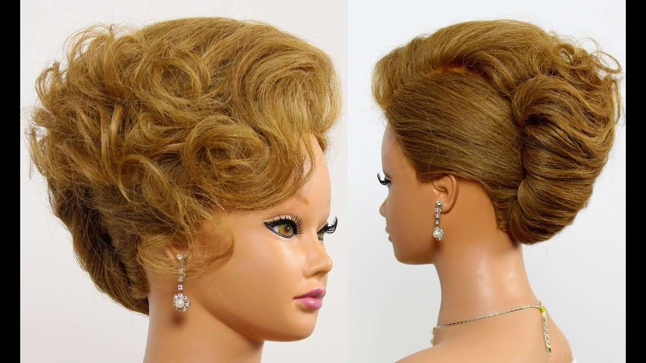 The Best Hairstyle For Long Medium Hair Tutorial Bridal Updo Pictures