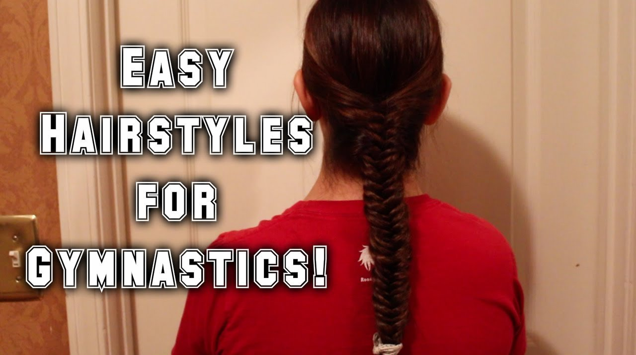 The Best Easy Hairstyles For Gymnastics Youtube Pictures