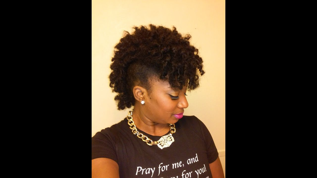 The Best Frohawk On Natural Hair Fgrogan Youtube Pictures