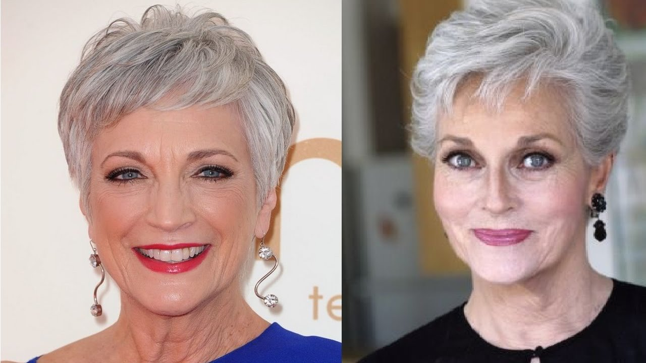 The Best Hairstyles For 70 Year Old Women With Thin Hair Youtube Pictures